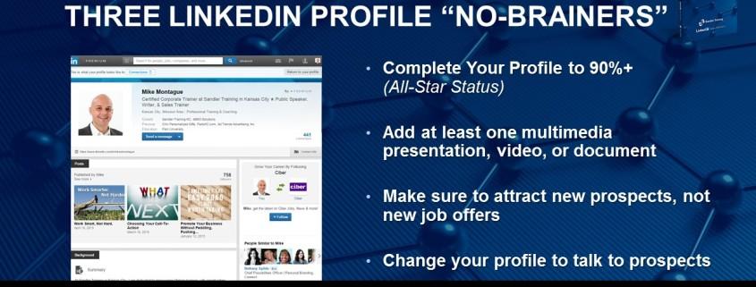 LinkedIn The Sandler Way -Chapter 4