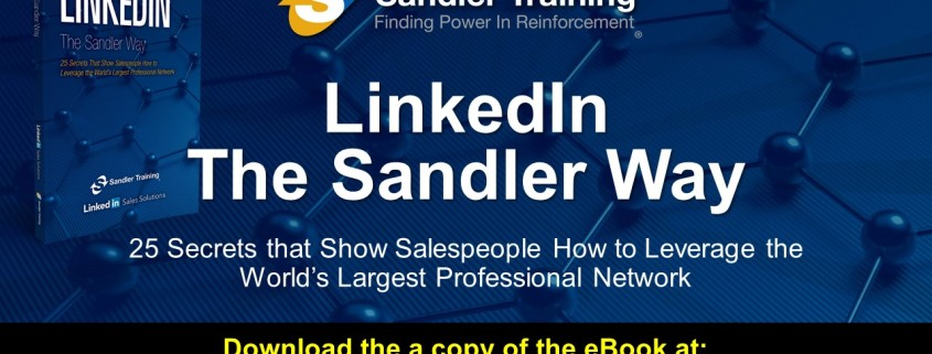 LinkedIn The Sandler Way Webinar